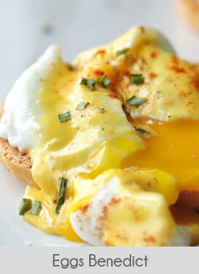 low carb breakfast ideas eggs benedict