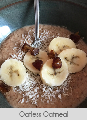 low carb breakfast ideas oatless oatmeal
