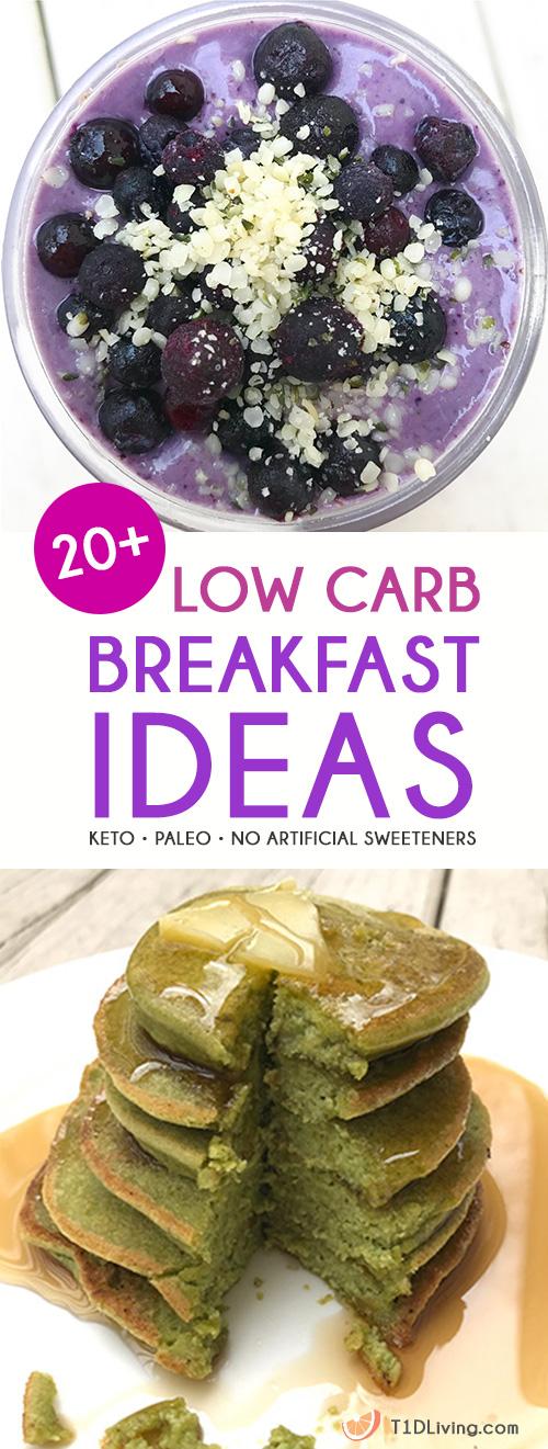 low carb breakfast ideas pinterest