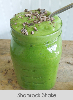 low carb breakfast ideas shamrock shake
