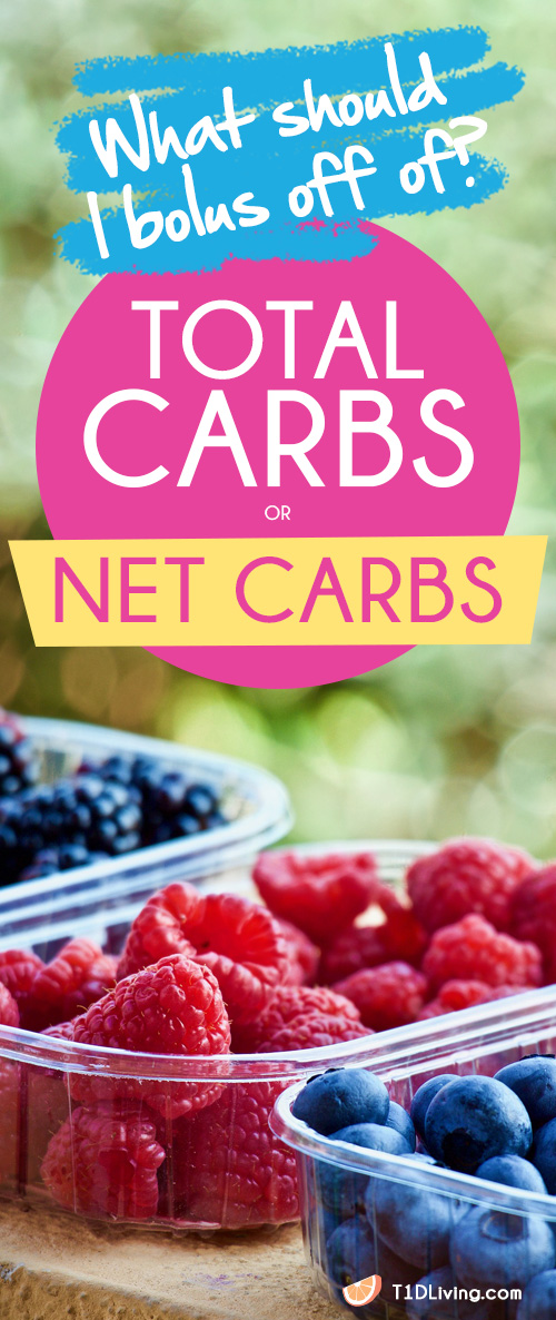 total carbs vs net carbs pinterest