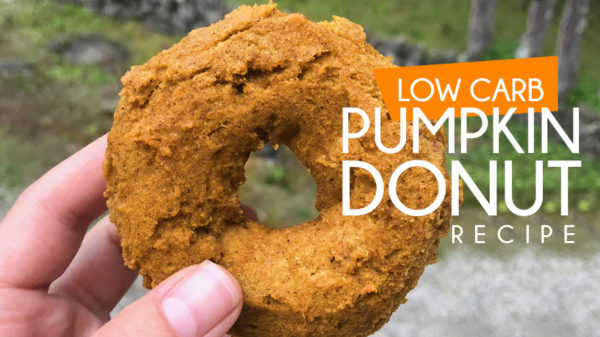 low carb pumpkin donut recipe paleo