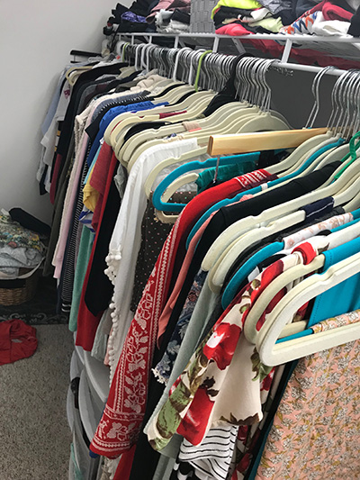 non maternity clothes closet