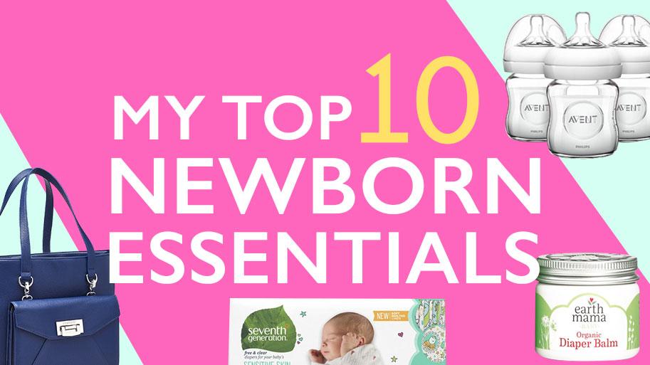 My Top 10 Newborn Essentials - T1D Living - a Diabetes Blog 34d2c57c3be82