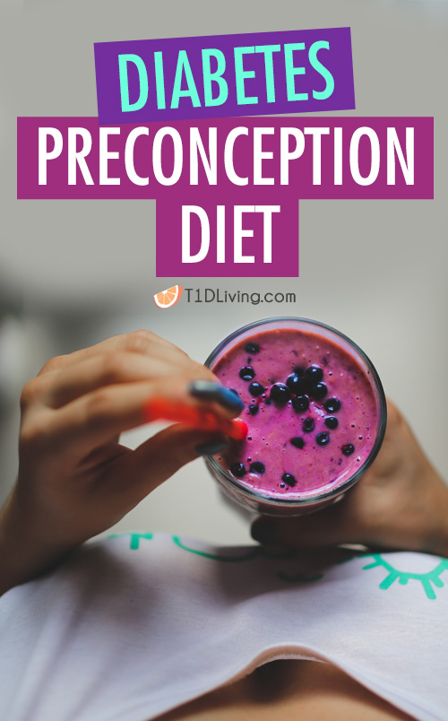 diabetes preconception diet Pinterest