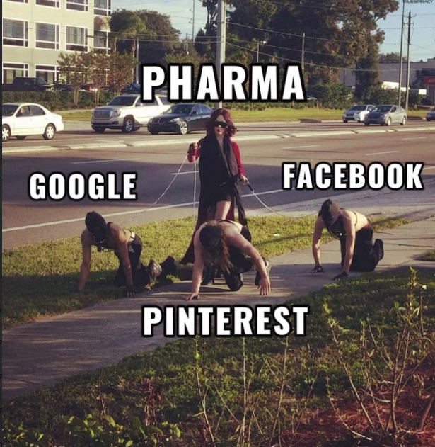 pharma making facebook-pinterest-and-google-their-bitch