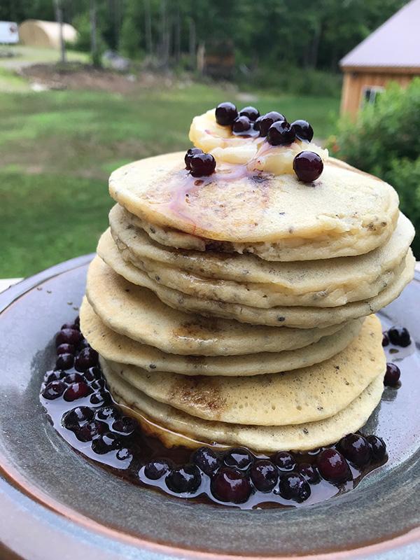gluten free dairy free low carb pancakes