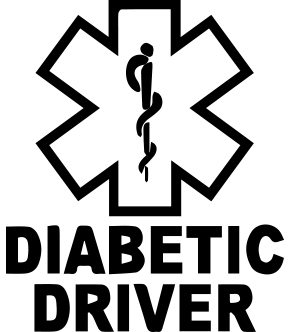 Diabetic Car Decal T1D Living Diabetes Blog