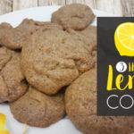 3 Ingredient Lemon Cookies GF DF